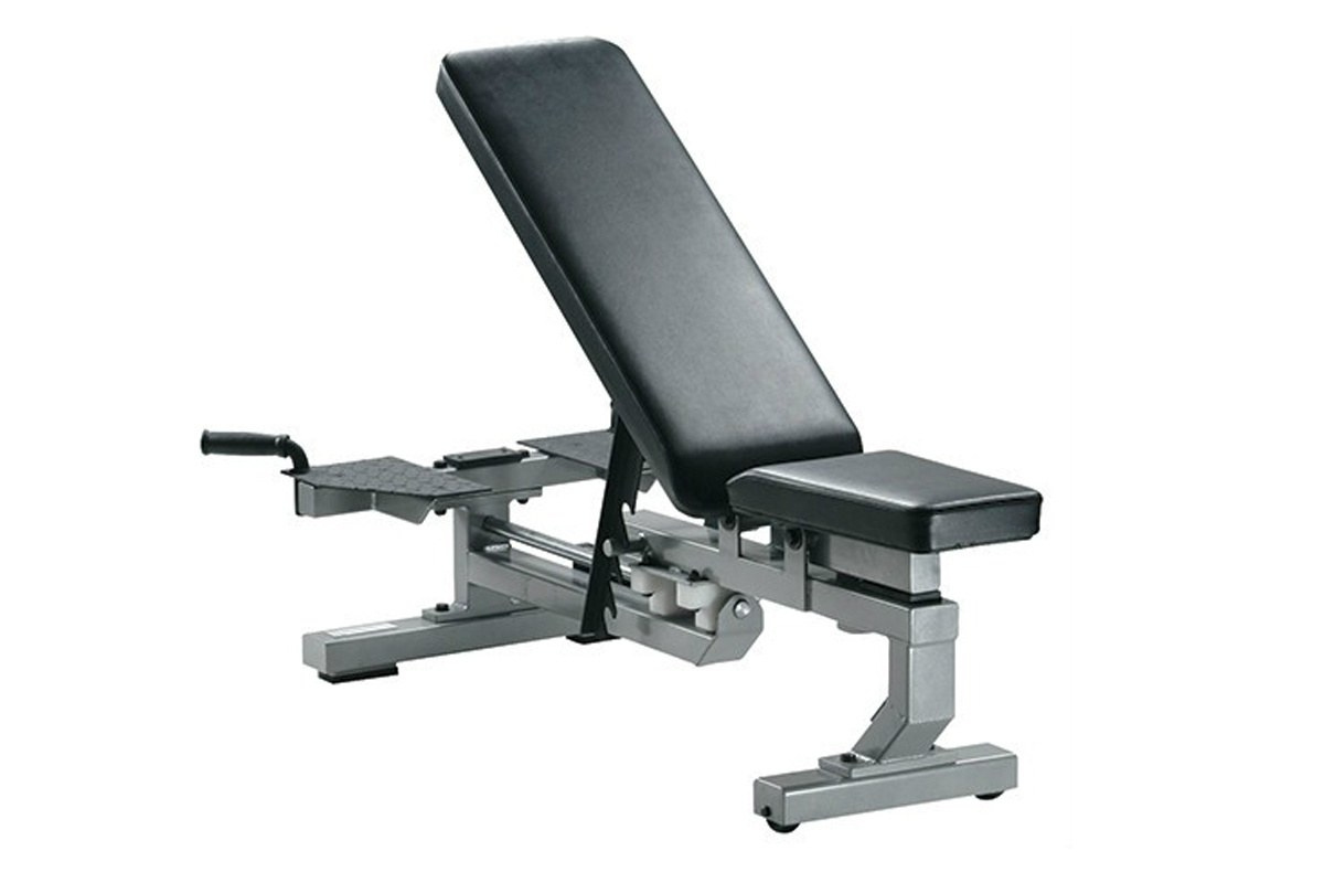 ŁAWKA DO ĆWICZEŃ MULTI FUNCTION BENCH SILVER /YORK FITNESS