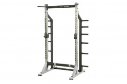 STOJAK SELF STANDING HALF RACK SILVER /YORK FITNESS