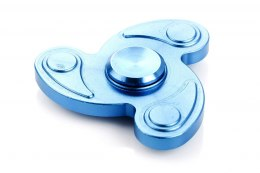 HAND FIDGET SPINNER FLOWER BLUE
