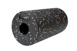 WAŁEK DO ĆWICZEŃ ROLLER FITNESS FS114 BLACK/BLUE DOTS 30CM /HMS