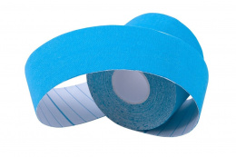 PLASTER KINESIOLOGY TAPE ROLL NS-60 BLUE /INSPORTLINE