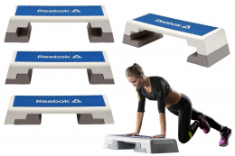 STEP DO ĆWICZEŃ DO AEROBIKU RAEL-11150BL BIAŁ. /REEBOK FITNESS