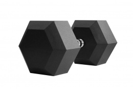 HANTLA HEXAGONALNA HEX RUBBER CROSSFIT 37,5KG /THORN+FIT