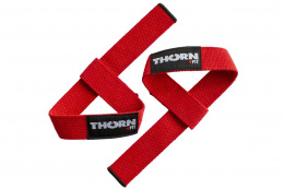 OPASKI NA NADGARSTKI LIFTING STRAPS RED /THORN+FIT