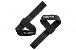 OPASKI NA NADGARSTKI LIFTING STRAPS BLACK /THORN+FIT