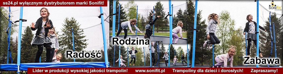 SONIFIT - lider w produkcji trampolin dla dzieci i dorosłych.